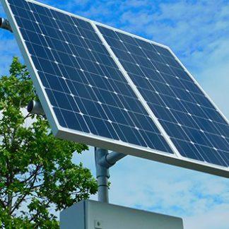 FAAC Solar Panel Kit